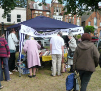Twick Soc stall at 2011 May Fair
