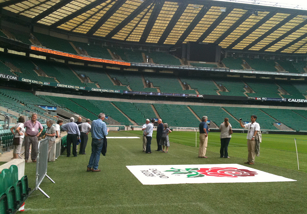 Twickenham Society Members at the RFU