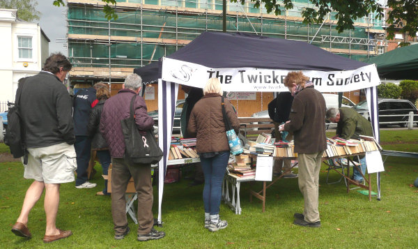 Twickenham Society stall at the 2012 HANDS fair